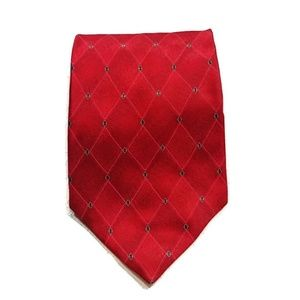 Puritan Red Silk Tie